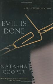 Cover art for EVIL IS DONE