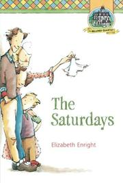 THE SATURDAYS by Elizabeth Enright