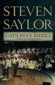 CATILINA'S RIDDLE by Steven Saylor