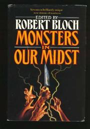Cover art for MONSTERS IN OUR MIDST