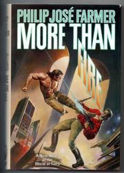 Book Cover for MORE THAN FIRE
