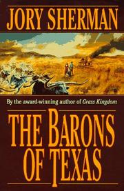 THE BARONS OF TEXAS by Jory Sherman