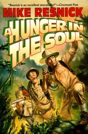 Cover art for A HUNGER IN THE SOUL