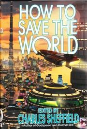 Cover art for HOW TO SAVE THE WORLD