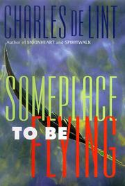 Cover art for SOMEPLACE TO BE FLYING