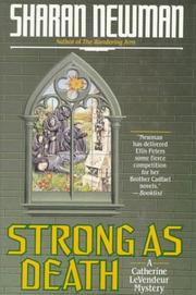 Cover art for STRONG AS DEATH