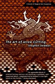 THE ART OF ARROW CUTTING by Stephen Dedman