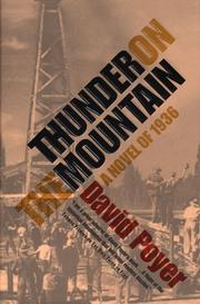THUNDER ON THE MOUNTAIN by David Poyer
