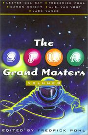 Cover art for THE SFWA GRAND MASTERS