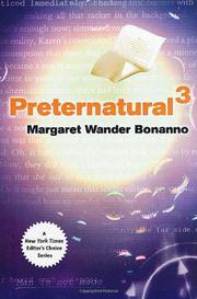 Book Cover for PRETERNATURAL³