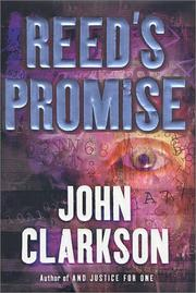REED'S PROMISE by John Clarkson