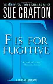 'F' IS FOR FUGITIVE by Sue Grafton