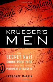 Book Cover for KRUEGER'S MEN