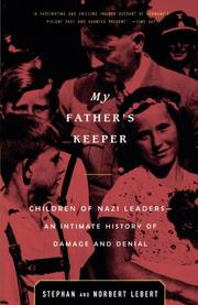 MY FATHER'S KEEPER by Norbert Lebert