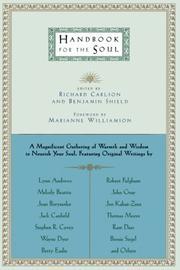 HANDBOOK FOR THE SOUL by Richard & Benjamin Shield Carlson