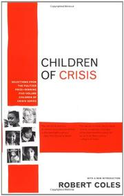 CHILDREN OF CRISIS by Terry Adams