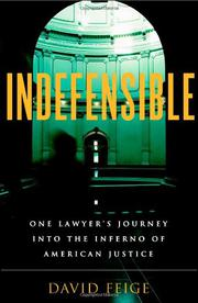 Cover art for INDEFENSIBLE