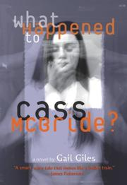 Book Cover for WHAT HAPPENED TO CASS MCBRIDE?