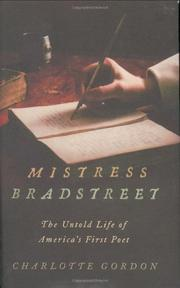 MISTRESS BRADSTREET by Charlotte Gordon