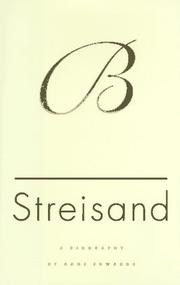 STREISAND by Anne Edwards