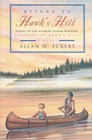 RETURN TO HAWK'S HILL by Allan W. Eckert