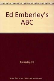 ED EMBERLEY'S ABC by Ed Emberley