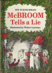 MCBROOM TELLS A LIE by Sid Fleischman