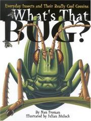 WHAT'S THAT BUG? by Nan Froman