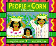 Cover art for PEOPLE OF CORN