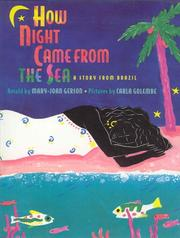 Cover art for HOW NIGHT CAME FROM THE SEA