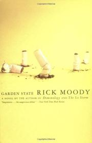 GARDEN STATE by Rick Moody
