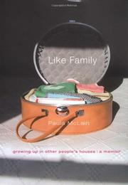 LIKE FAMILY by Paula McLain