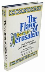THE FLAVOR OF JERUSALEM by Joan Nathan