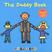 THE DADDY BOOK by Todd Parr