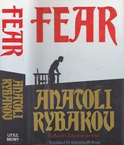 FEAR by Anatoli Rybakov