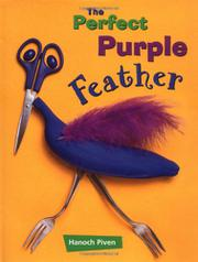 THE PERFECT PURPLE FEATHER by Hanoch Piven