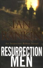 Cover art for RESURRECTION MEN