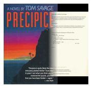 PRECIPICE by Tom Savage