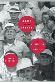 MANY ARE THE CRIMES by Ellen Schrecker