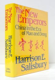 THE NEW EMPERORS by Harrison E. Salisbury