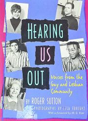 HEARING US OUT by Roger Sutton