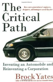 THE CRITICAL PATH by Brock Yates