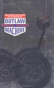 OUTLAW MACHINE by Brock Yates