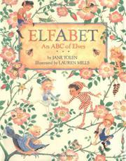 ELFABET by Jane Yolen