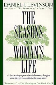 THE SEASONS OF A WOMAN'S LIFE by Daniel J. with Judy D. Levinson Levinson