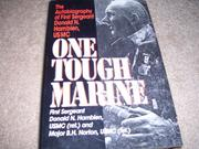 ONE TOUGH MARINE by Donald N. Hamblen