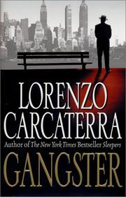 GANGSTER by Lorenzo Carcaterra