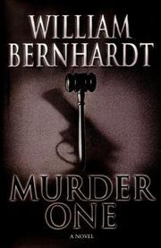 MURDER ONE by William Bernhardt