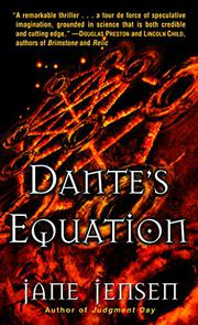 DANTE'S EQUATION by Jane Jensen