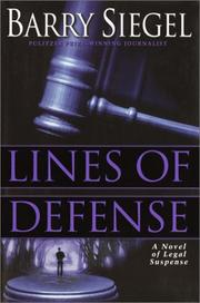 Cover art for LINES OF DEFENSE
